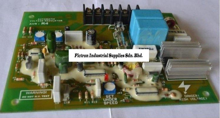 R4 VER 0 (6 Terminal) MICROLOGY AVR (Automatic Voltage Regulator) Supply and Repair In Malaysia & Singapore