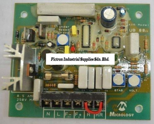 UB 88 MICROLOGY AVR (Automatic Voltage Regulator) Supply and Repair In Malaysia, Singapore & Thailand