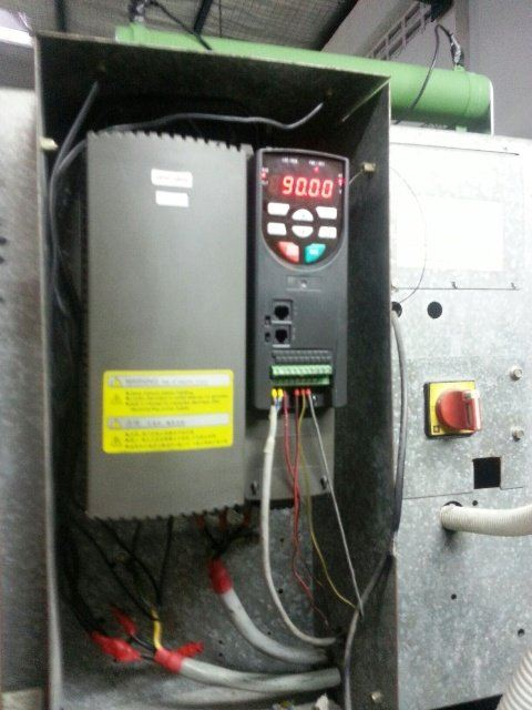 MOGEN MORRIS A8000 INVERTER IN WASHING MACHINE APPLICATION