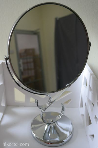 "17675-6601C 8"" CHROMED MIRROR"