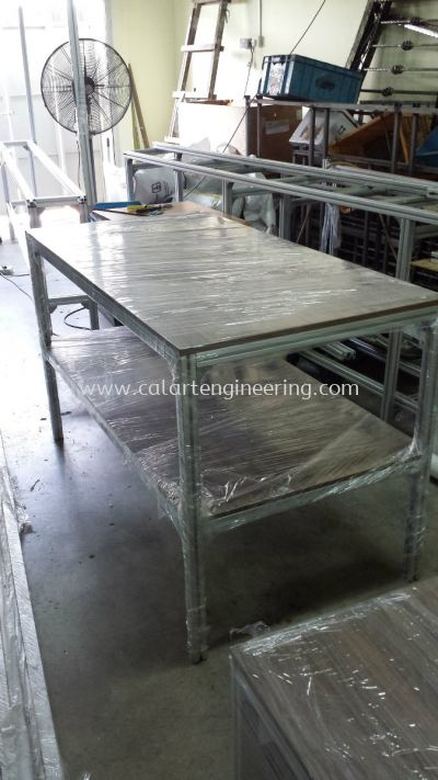 Aluminium Coffee Table