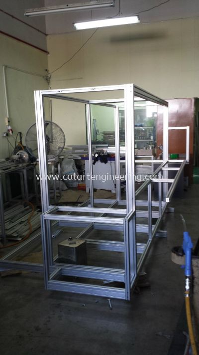 Aluminium Machine Frame