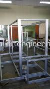 Aluminium Machine Frame Aluminium Machine Frame Aluminium Structure Works