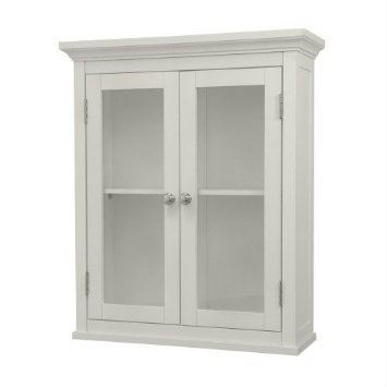 Lima 2-door hanging cabinet white