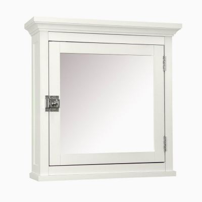 Lima wall mirror case white