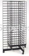 X-way netting rack ( Black) Wire rack Shop Rack