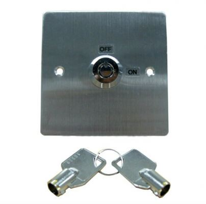 Stainless Steel Door Release Key Switch