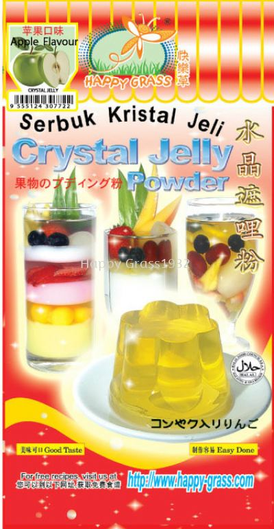 Crystal Jelly Powder With Green Apple Flavor