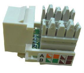 RJ45 UTP Modular Jack CAT5E  ALL-LINK