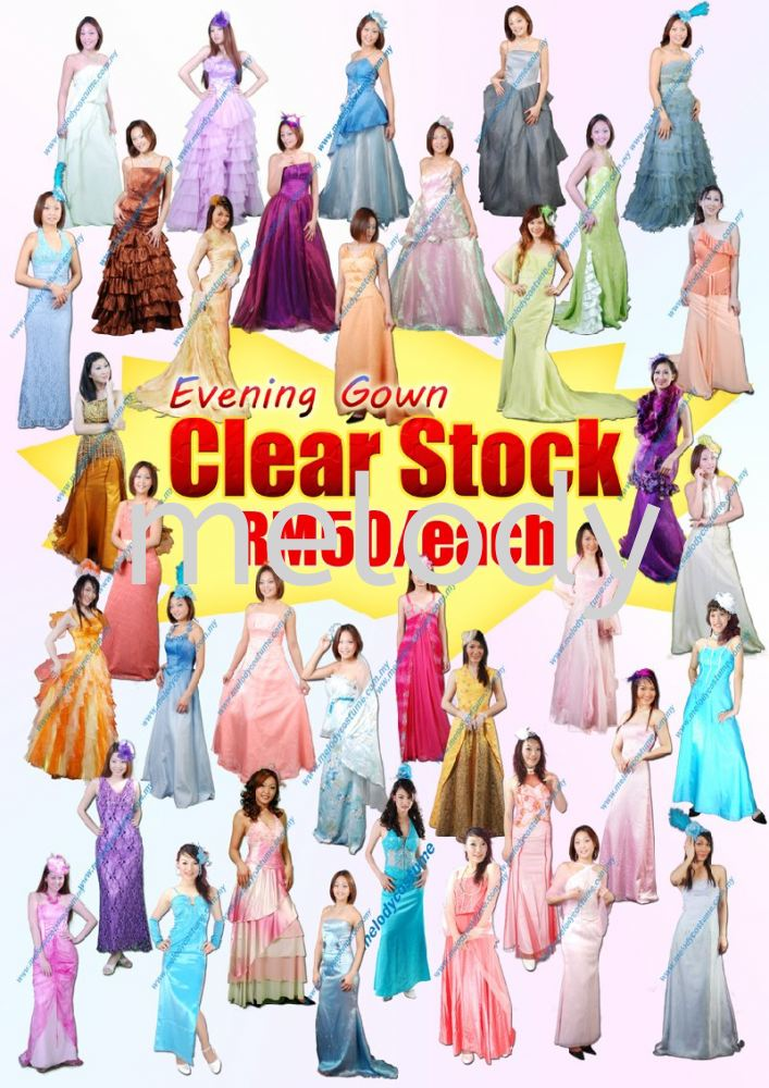 Everning Gown Clean Stock