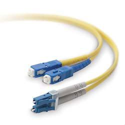 SC-LC 9/125UM Fiber Optic Patch Cord DUPLEX 3MTR