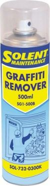 Graffiti Remover 500ml, SOL7320300K Cleaning Products Solent Maintenance