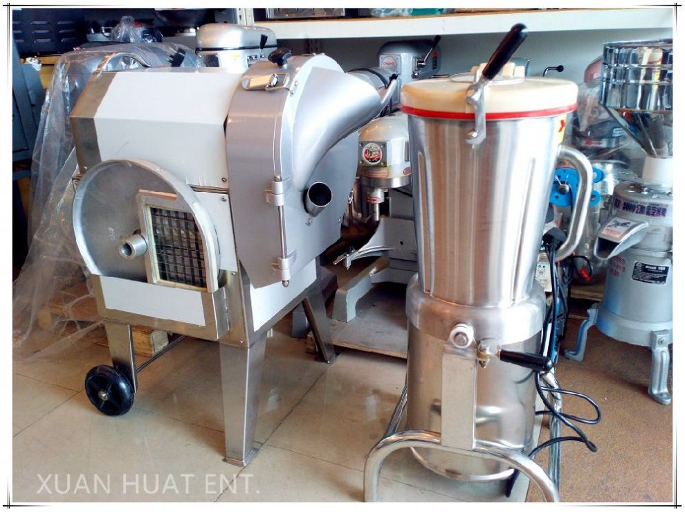 HEAVY DUTY VEGETABLE CUTTING AND BLENDING MACHINE IN JOHOR BAHRU