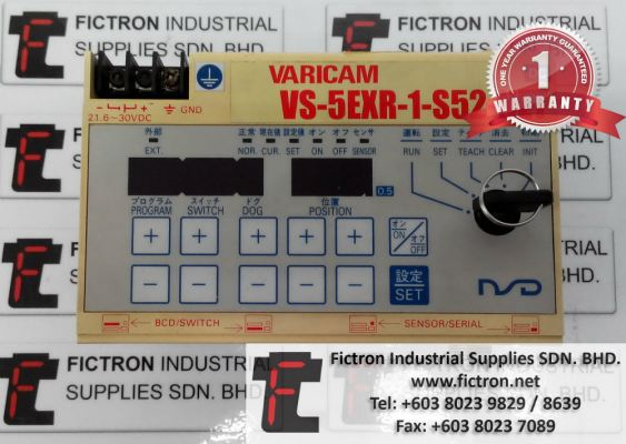 VS-5EXR-1-S52-NET VARICAM Controller Repair Service in Malaysia