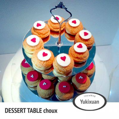 Dessert Table choux Tower