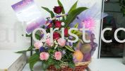 FFB09 - from RM250.00 Floral Fruit Basket