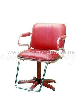 Hairdressing Chair - Red PW2 S