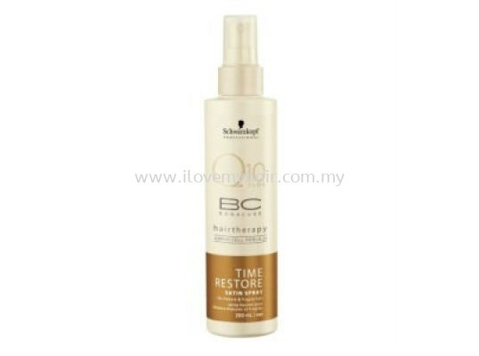 BC Bonacure Q10 Time Restore Satin Spray (200ml)