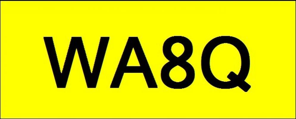 Number Plate WA8Q