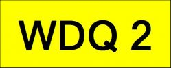 Number Plate WDQ2 VVIP Plate