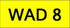 VIP Nice Number Plate (WAD8) All Plate