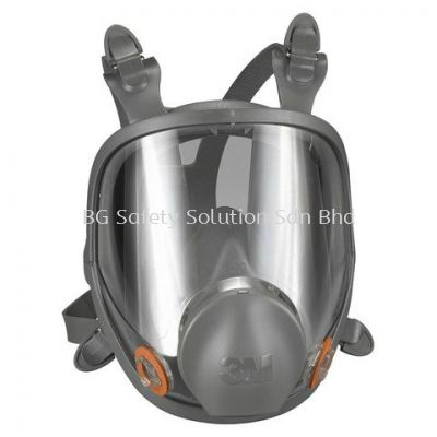 <3M> 6800 Reusable Full Facepiece Respirator, Dual Cartridge