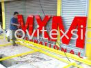 3D Lettering (click for more detail) 3D Embossed Lettering Sign