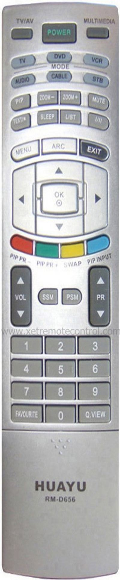 RM-D656 LG LCD/LED TV REMOTE CONTROL
