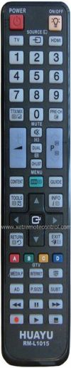 RM-L1015 SAMSUNG LCD/LED TV REMOTE CONTROL SAMSUNG LCD/LED TV REMOTE CONTROL