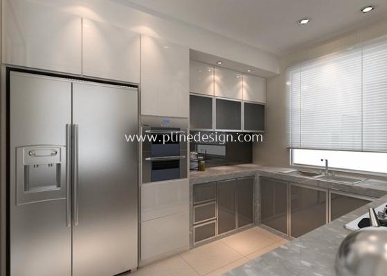 Wet Kitchen View 1