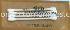 Cotton Bud in Color Plastic Bag w/Logo Cotton Bud Guest Room Amenities