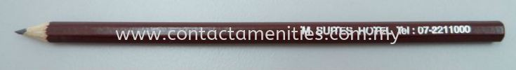 End Top Pencil w/Logo Printing Stationery Guest Room Amenities