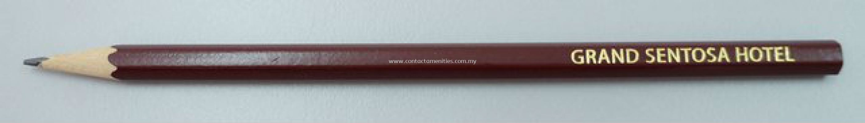 Flat Top Pencil w/Logo
