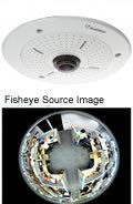 Geovision GV-FE420 - 421 4M H.264 Fisheye IP Camera