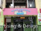 Poliklinik Dr Hani 4ft x 20ft with pvc foam box up logo Spandrel Signboard