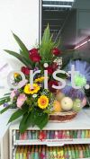 FFB12- From : RM180.00 Floral Fruit Basket
