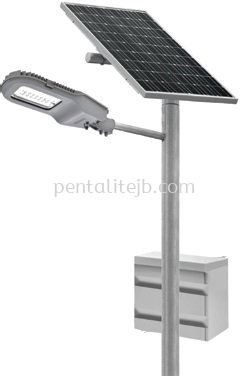 30W Solar Powered LED Street Lantern Series with Dimming System