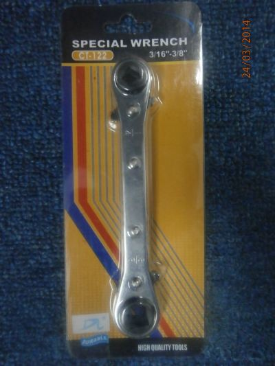 "DONGLI CT-122 Ratcher Wrench (1/4"",3/8"",3/16"" & 5/16""[Square])"