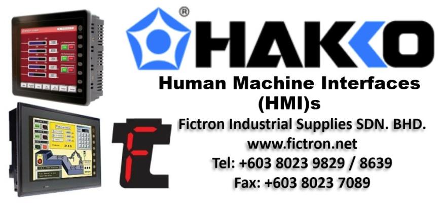 V808iCD V8 Series HAKKO HMI Supply New & Repair Service Malaysia Singapore Thailand Indonesia Vietnam & USA