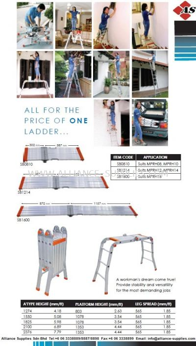 ALL-IN-ONE LADDER