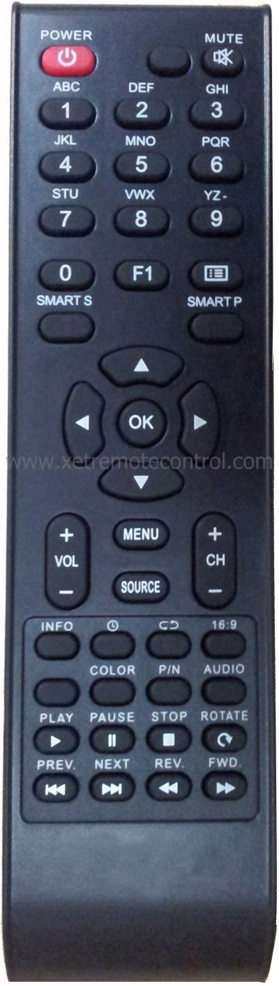 A03 PENSONIC LCD/LED TV REMOTE CONTROL