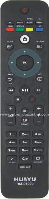 RM-D1000 PHILIPS LCD/LED TV REMOTE CONTROL  PHILIPS LCD/LED TV REMOTE CONTROL