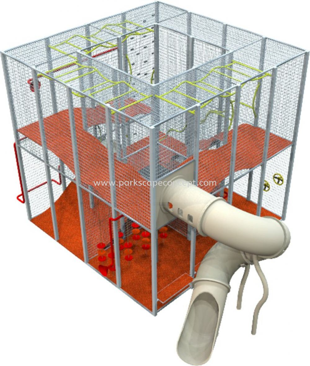 """The Cage """"Signature"""" Play System ISAAC Play System Puchong, Selangor, Kuala Lumpur, KL, Malaysia. Manufacturer, Supplier, Supplies, Supply 