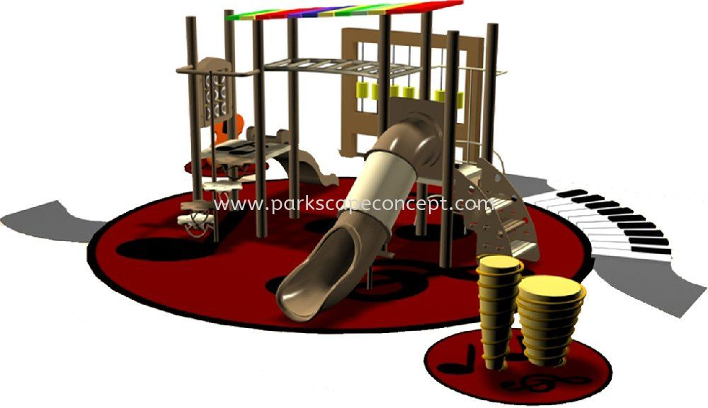 """Musicplay """"Theme"""" Play System ISAAC Play System Puchong, Selangor, Kuala Lumpur, KL, Malaysia. Manufacturer, Supplier, Supplies, Supply   Parkscape Concept Sdn Bhd"""