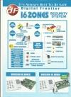 DF 16 Zones DF 3300 Burglar Alarm