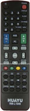RM-L1046 SHARP LCD/LED TV REMOTE CONTROL  SHARP LCD/LED TV REMOTE CONTROL