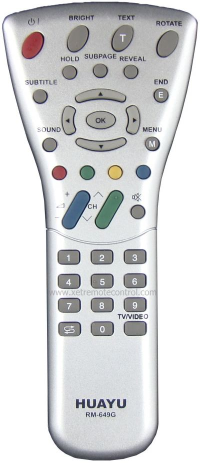 RM-649G SHARP LCD/LED TV REMOTE CONTROL