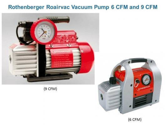 ROTHENBERGER ROAIRVAC VACUUM PUMP