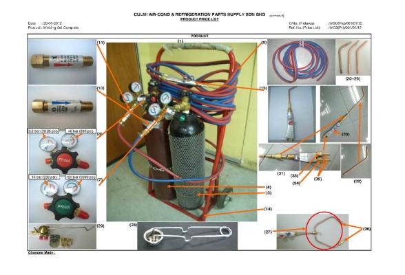 Portable Welding Set c/w Accessories
