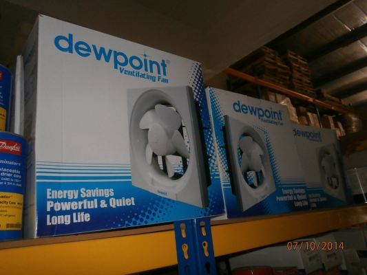DEWPOINT VENTILATING FAN
